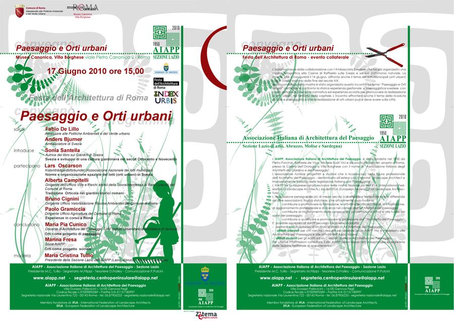 Festa Architettura Roma Aiapp Associazione Italiana Architettura